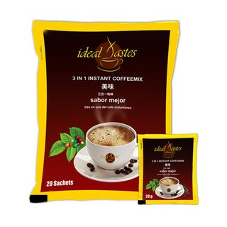 Plutus Ideal Tastes 3 in 1 Instant CoffeeMix Healthy Taste (2 options available)