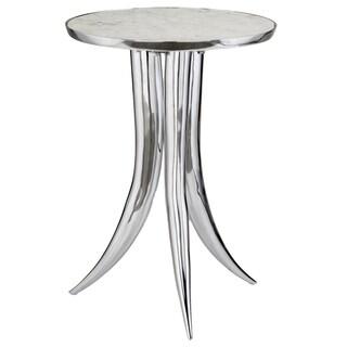 Cardo White Marble Top Table