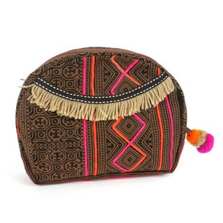 Handmade Earth Hmong Batiked Cosmetic Bag - Global Groove (Thailand)