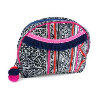 Handmade Indigo Hmong Batiked Cosmetic Bag - Global Groove (Thailand)