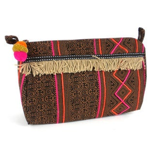 Handmade Earth Hmong Batiked Toiletry Bag - Global Groove (Thailand)