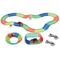 Magic Twister Glow in the Dark Light-up Race Tracks