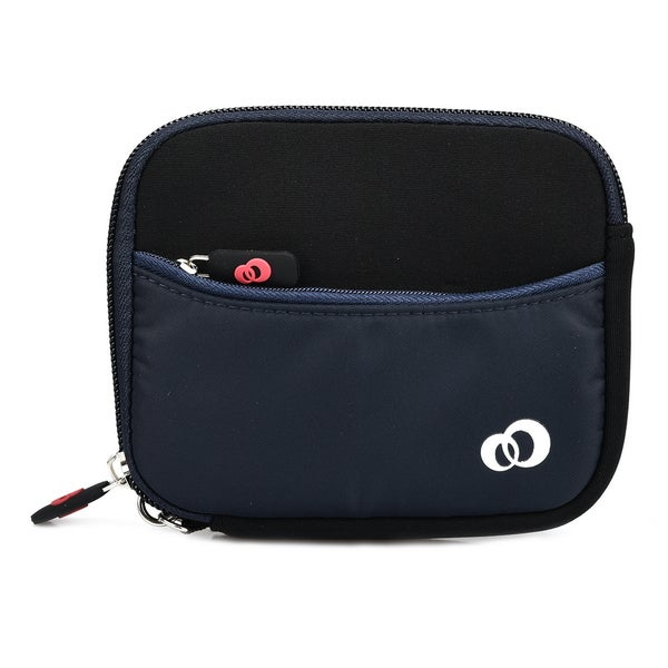 Kroo Mini Scoop 2 Neoprene 3.5-Inch Digital Camera Compact Pouch Case