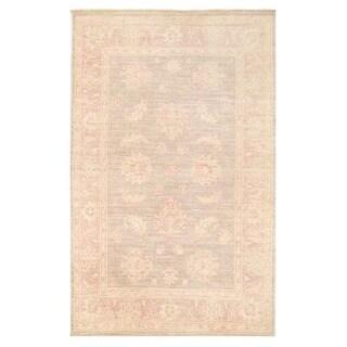 Herat Oriental Afghan Hand-knotted Vegetable Dye Oushak Wool Rug (3'2 x 4'11)