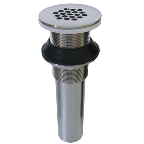 Novatto Vessel Sink Strainer Drain Brushed Nickel