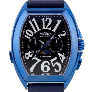 Balmer Cobra Elegante Men's Swiss Master Calendar watch, Sapphire, genuine leather , Superluminova numerals and hands