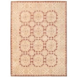 Herat Oriental Afghan Hand-knotted Vegetable Dye Khotan Wool Rug (8' x 10'9)