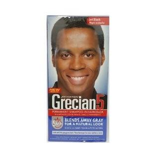 Just Men's Grecian5 Permanent Shampoo-In Haircolor Jet Black