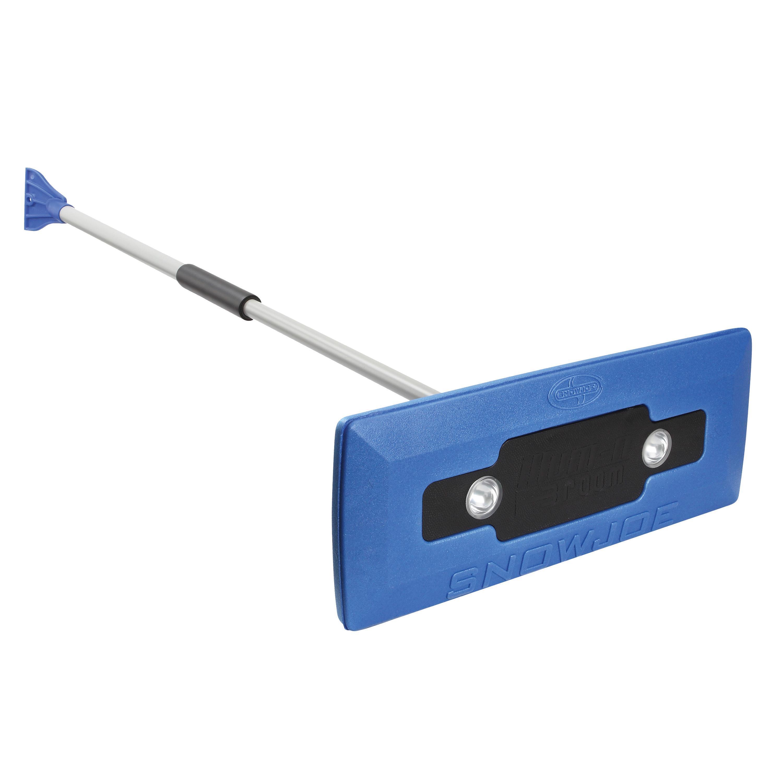 Snow Joe illum-n-Broom LED Lighted 4-in-1 Snow Broom + Ic...