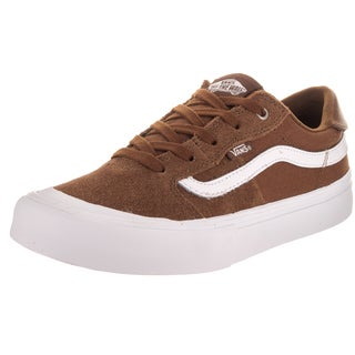 Vans Kids Style 112 Pro Brown Suede Skate Shoes