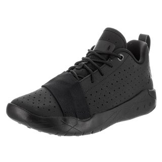 Nike Boys' Jordan 23 Breakout Bg Black Leather Basketball Shoe