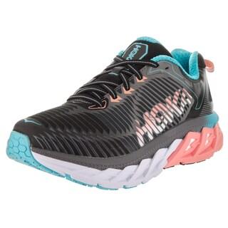 Hoka One One Women's W Arahi Black/ Peach Running Shoes