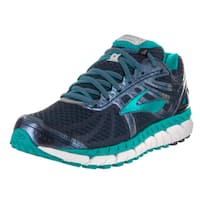 Brooks Women's Ariel '16 Blue Synthetic Leather Running Shoes