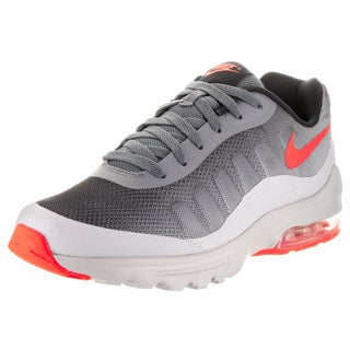 Nike Men's Air Max Invigor Grey Synthetic Leather Print Running Shoe
