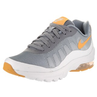 Nike Women's Air Max Invigor Grey Synthetic-leather Print Running Shoes