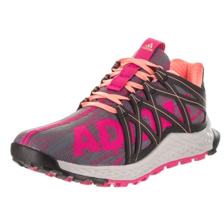 Adidas Women's Vigor Bounce Grey Synthetic Leather Running Shoes
