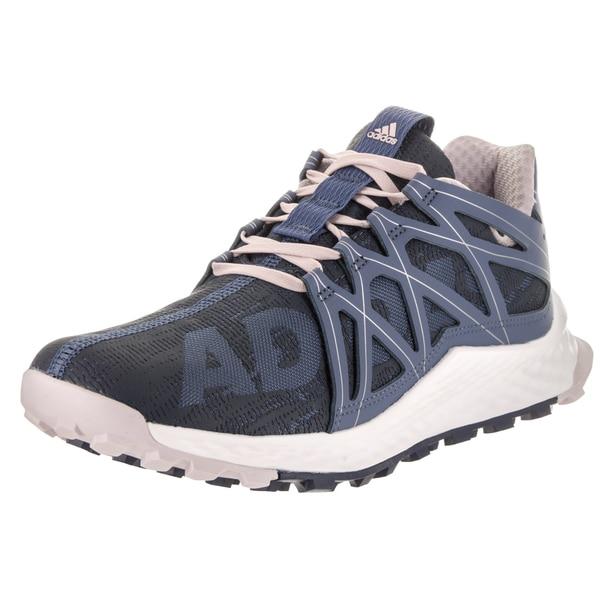 9e73cda65d8be Shop Adidas Women s Vigor Bounce Blue Synthetic Running Shoe - Free ...