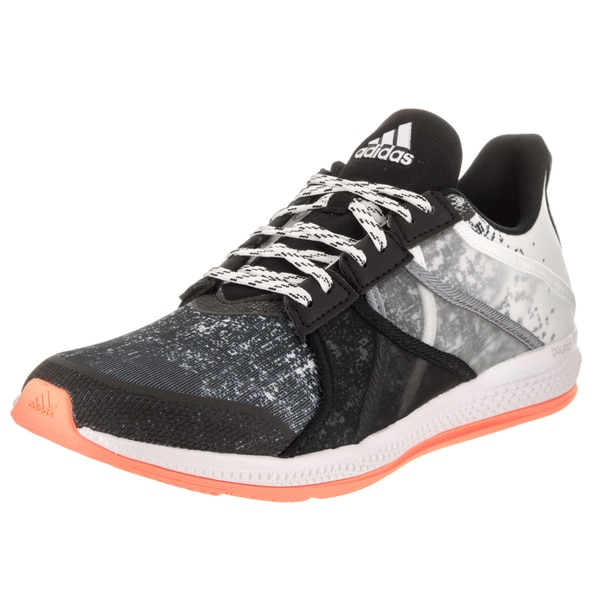 360ec0fd1 Shop Adidas Women s Black  White Gymbreaker Bounce Training Shoes - Free  Shipping Today - Overstock - 14163310