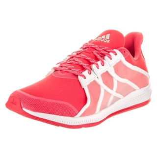 Adidas Women's Gymbreaker Bounce Red Fabric Training Shoes