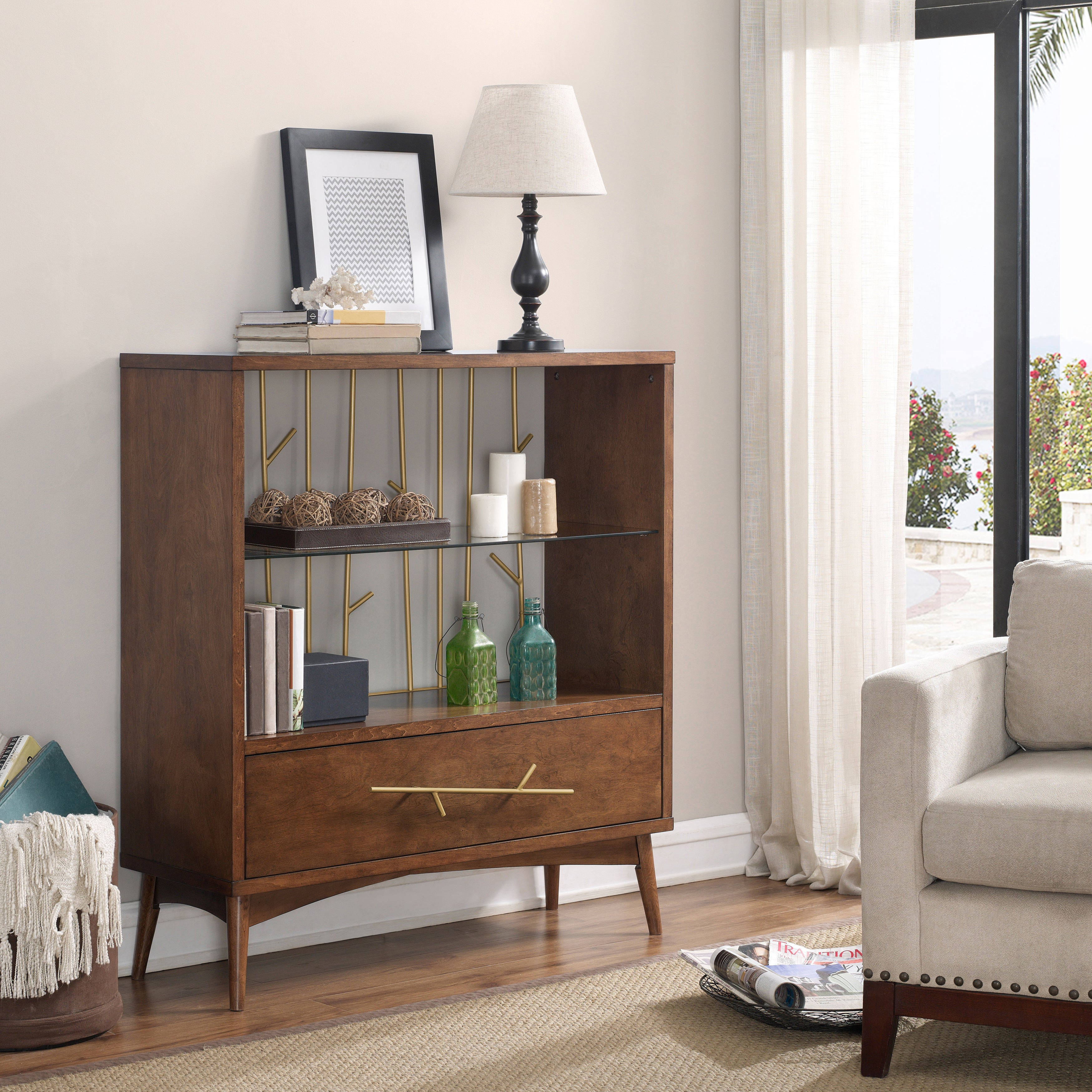 Wire Branch Display Cabinet, Multi