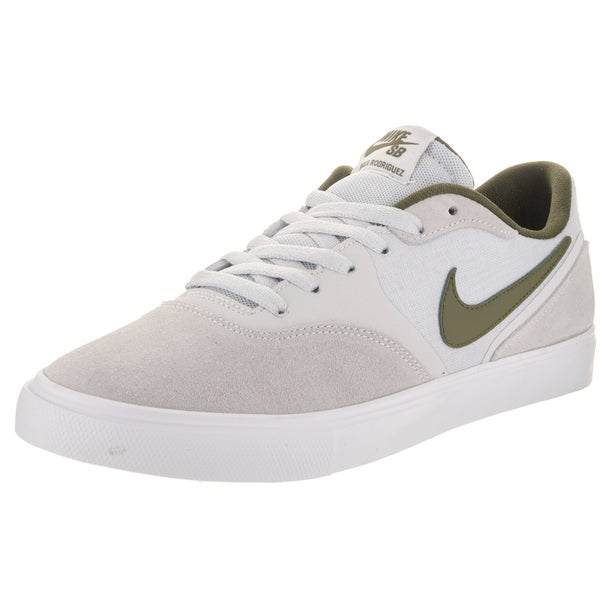 Nike Men's Paul Rodriguez 9 VR Grey Suede Skate Shoe
