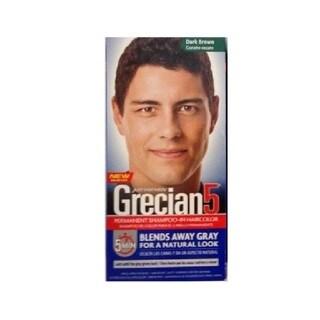 Just Men's Grecian 5 Permanent Shampoo-In Haircolor Dark Brown