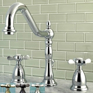 8 inch widespread faucet free shipping today 14431132 for Victorian widespread bathroom faucet cross handles