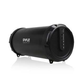 Pyle Portable Bluetooth Wireless BoomBox Stereo System w/ Rechargeable Battery, Aux (3.5mm) Input