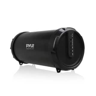Pyle Portable Bluetooth Wireless BoomBox Stereo System w/ Rechargeable Battery, Aux (3.5mm) Input|https://ak1.ostkcdn.com/images/products/14163422/P20763699.jpg?impolicy=medium
