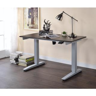 Acme Furniture Bliss Adjustable Height Wooden Desk with Power Lift