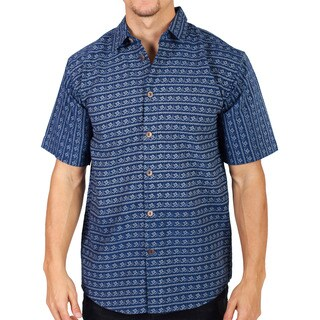 Men's Cotton Om Summer Half Sleeve Shirt