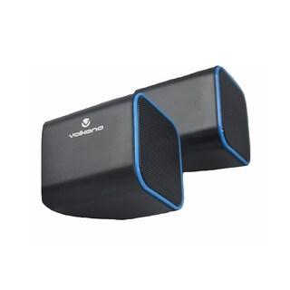 Volkano Diamond Series USB Speaker (Blue)