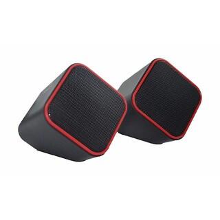 Volkano Diamond Series USB Powered Speaker (Red)