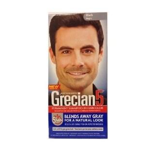 Just Men's Grecian 5 Permanent Shampoo-In Haircolor Black