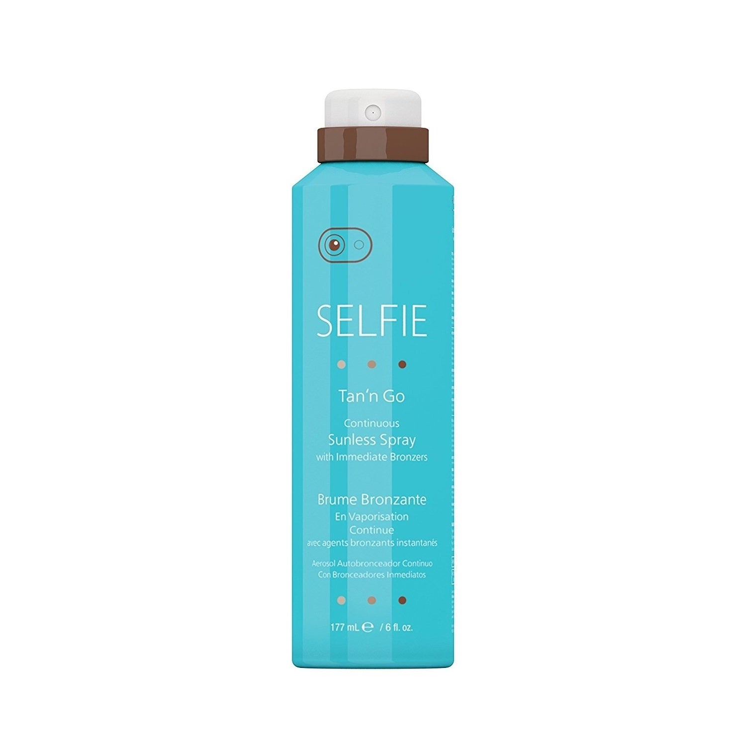 Selfie Tan'n Go 6-ounce Continuous Sunless Spray with Imm...