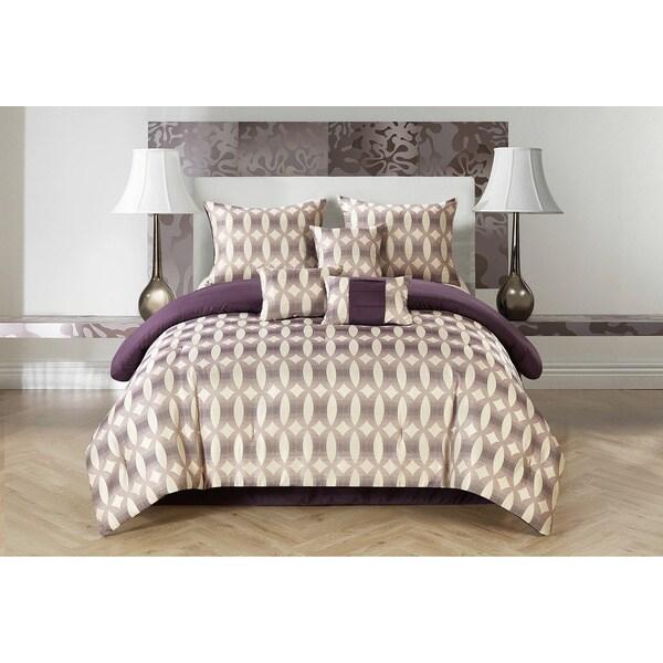 Casa Bentham Jacquard 7-piece Comforter Set