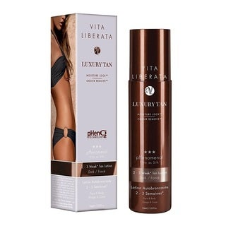 Vita Liberata 2-3 Week Moisture Locking System Pheno2 Technology 5.07-ounce Tan Lotion Dark