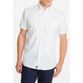 Lee Men's Cotton-blend Short-sleeve Oxford Shirt