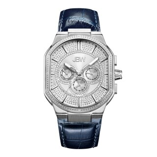 JBW Men's Orion J6342A Stainless Steel Diamond Watch