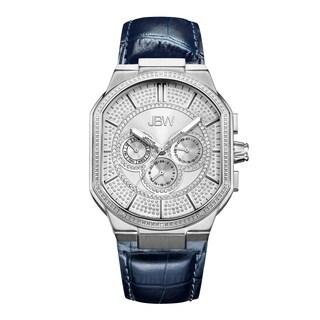 JBW Men's Orion J6342A Stainless Steel Diamond Watch - Silver