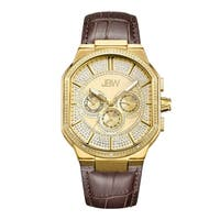 Jbw Men'S Orion  Goldplated Stainless-Steel Diamond Watch - Gold