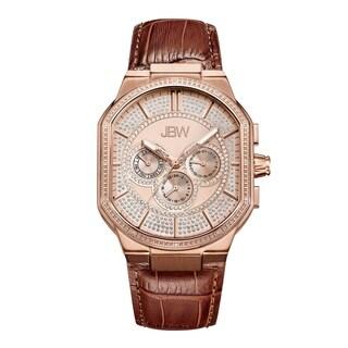 JBW Men's Orion J6342C 18k Rose Goldplated Stainless-steel Diamond Watch - Gold