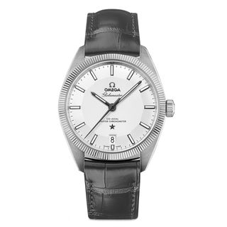 Omega Constellation 13033392102001 Men's Silver Dial Watch