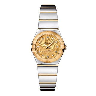 Omega Constellation 12320246058002 Women's Champagne Dial Watch