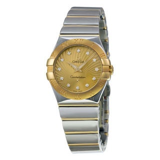 Omega Constellation 12320276058002 Women's Champagne Dial Watch