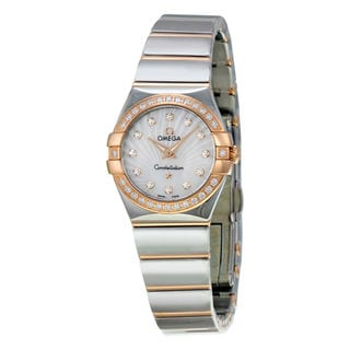 Omega Constellation 12325246055006 Women's Mother of Pearl Dial Watch
