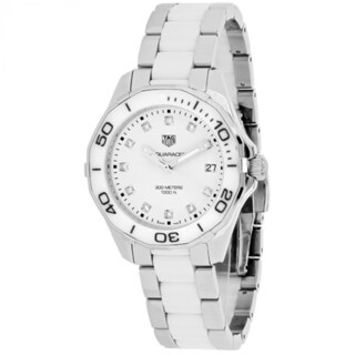 Tag Heuer Aquaracer WAY131D.BA0914 Women's White Dial Watch
