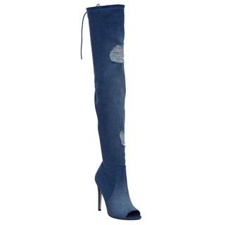 Blue Women's Boots - Shop The Best Deals For Mar 2017 - Trendy ...
