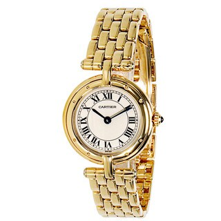 Pre-Owned Cartier Panthere VLC 8057921 Ladies Watch in 18K Yellow Gold|https://ak1.ostkcdn.com/images/products/14165621/P20765585.jpg?_ostk_perf_=percv&impolicy=medium