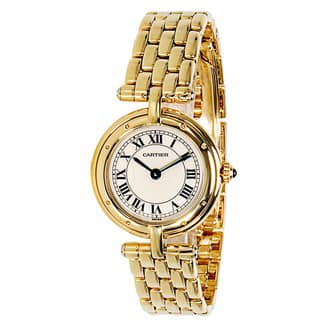 Pre-Owned Cartier Panthere VLC 8057921 Ladies Watch in 18K Yellow Gold|https://ak1.ostkcdn.com/images/products/14165621/P20765585.jpg?impolicy=medium